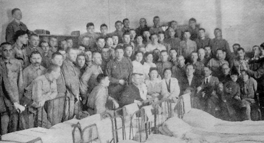 In 1961 on the territory of the 1st city clinical hospital of minsk
