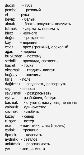 Стих турецкого поэта перевод