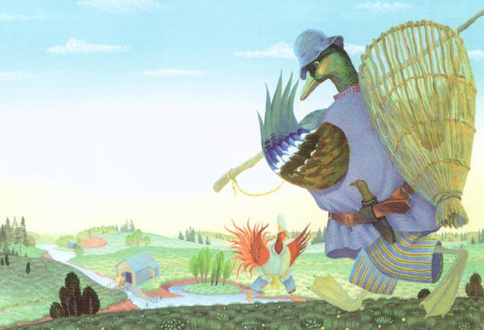 Удмуртская народная сказка Давай спросим кого-нибудь другого
