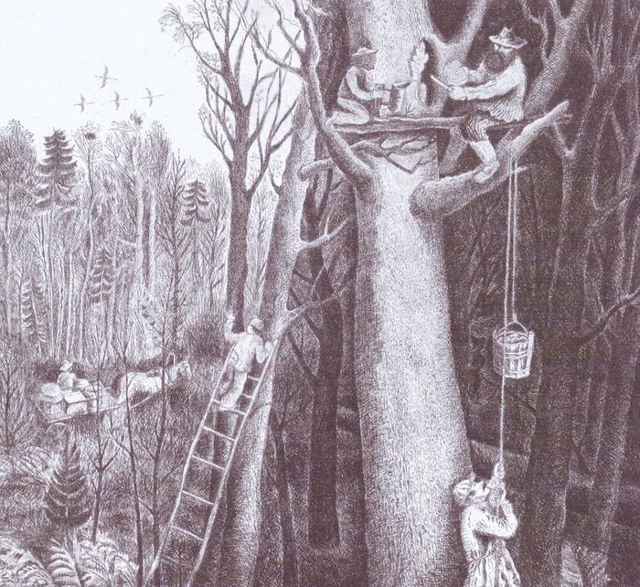 Удмуртские легенды на картинах художников